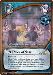 A Piece of Star - M-325 - Rare - 1st Edition - Foil