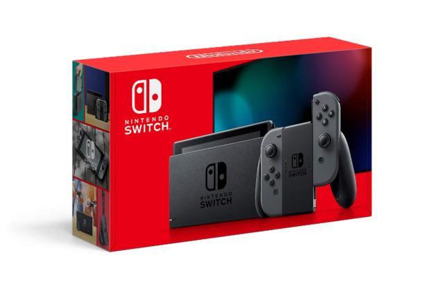 Nintendo Switch Console V2 - Gray Joy-Con