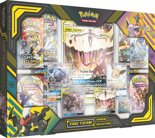 Tag Team Powers Collections - Espeon & Deoxys GX