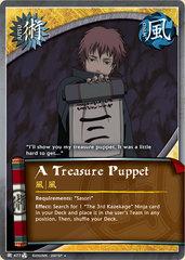A Treasure Puppet - J-477 - Uncommon - 1st Edition - Foil