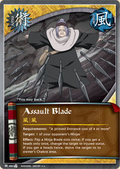 Assault Blade - J-464 - Rare - Unlimited Edition