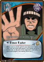 4 Times Faster - M-447 - Uncommon - Unlimited Edition - Foil