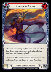 Absorb in Aether (Red) - 1st Edition