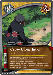 Crow Clone Jutsu - J-539 - Rare - 1st Edition - Foil