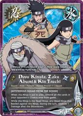 Dosu Kinuta, Zaku Abumi & Kin Tsuchi - N-621 - Uncommon - 1st Edition - Foil