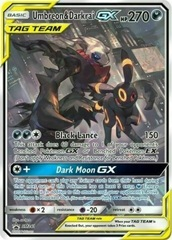 Umbreon & Darkrai Tag Team GX - SM241 - SM Black Star Promos