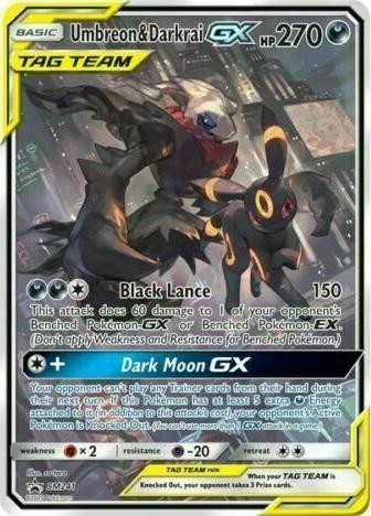 Umbreon & Darkrai Tag Team GX - SM241 - SM Black Star Promos