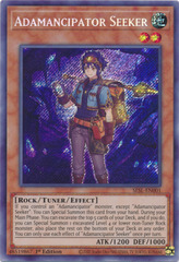 Adamancipator Seeker - SESL-EN001 - Secret Rare - 1st Edition