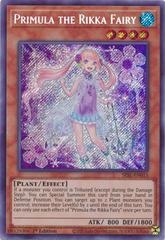 Primula the Rikka Fairy - SESL-EN015 - Secret Rare - 1st Edition