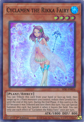 Cyclamen the Rikka Fairy - SESL-EN016 - Super Rare - 1st Edition