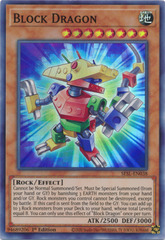 Block Dragon - SESL-EN038 - Super Rare - 1st Edition