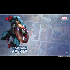 Marvel Champions LCG: Captain America Game Mat