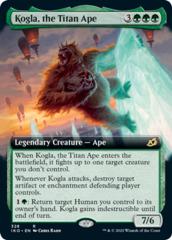 Kogla, the Titan Ape - Foil - Extended Art
