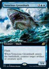 Voracious Greatshark - Foil - Extended Art