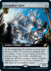 Crystalline Giant - Foil - Extended Art