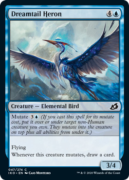Dreamtail Heron - Foil