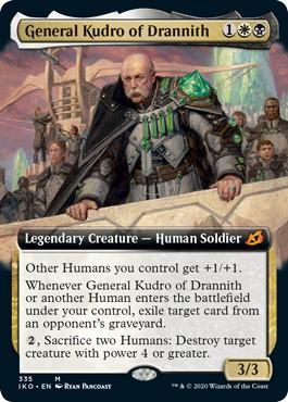 General Kudro of Drannith - Foil - Extended Art