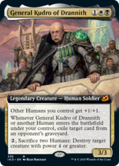 General Kudro of Drannith - Foil - Extended Art