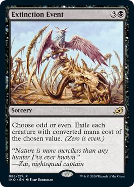 Extinction Event - Foil
