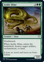 Acidic Slime on Channel Fireball