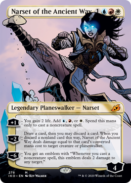 Narset of the Ancient Way - Foil - Borderless