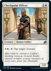 Checkpoint Officer - Foil