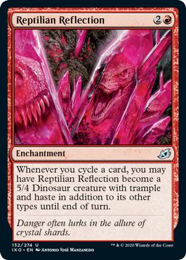 Reptilian Reflection - Foil