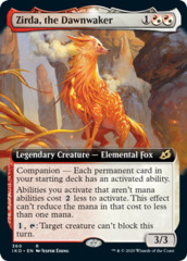 Zirda, the Dawnwaker - Foil - Extended Art