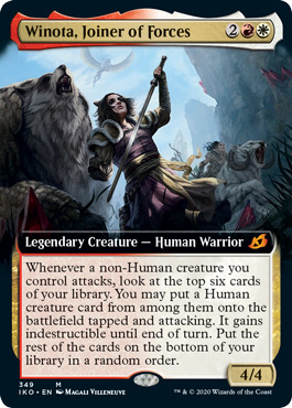 Winota, Joiner of Forces (Extended Art)
