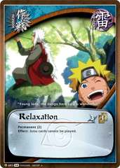 Relaxation - M-683 - Uncommon - 1st Edition - Foil