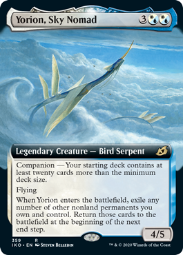 Yorion, Sky Nomad - Foil - Extended Art