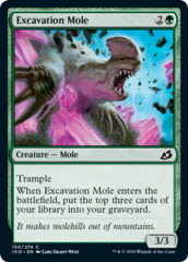Excavation Mole - Foil
