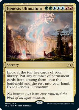 Genesis Ultimatum - Foil