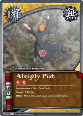 Almighty Push - J-888 - Super Rare - 1st Edition - Foil