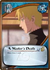 A Master's Death - M-843 -  - 1st Edition - Foil