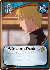 A Master's Death - M-843 -  - Unlimited Edition