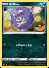 Koffing - 112/192 - Common