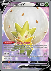 Eldegoss V - 176/192 - Full Art Ultra Rare