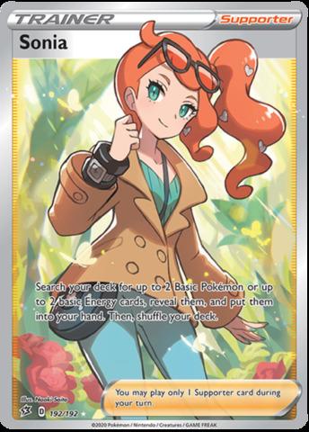 Sonia - 192/192 - Full Art Ultra Rare