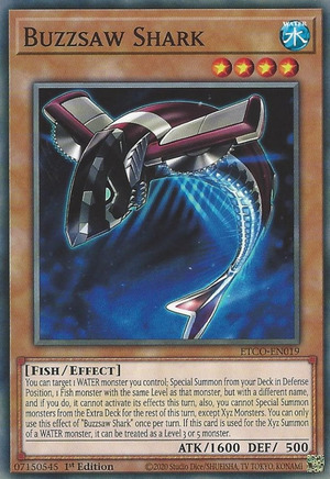 Buzzsaw Shark - ETCO-EN019 - Common - 1st Edition