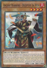 Ancient Warriors - Deceptive Jia Wen - ETCO-EN022 - Common - 1st Edition
