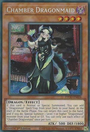 Chamber Dragonmaid - ETCO-EN026 - Secret Rare - 1st Edition
