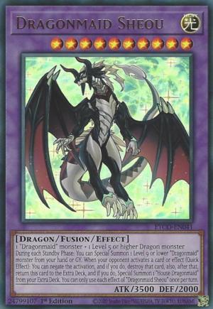 Dragonmaid Sheou - ETCO-EN041 - Ultra Rare - 1st Edition