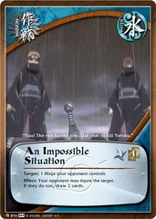 An Impossible Situation - M-874 - Rare - Unlimited Edition - Foil