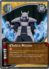 Chakra Stream - J-970 - Uncommon - Unlimited Edition - Foil