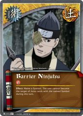 Barrier Ninjutsu - J-973 - Uncommon - Unlimited Edition - Foil