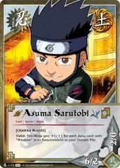Asuma Sarutobi - N-1173 - Common - Unlimited Edition - Foil
