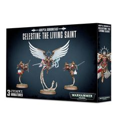Adepta Sororitas Saint Celestine the Living Saint