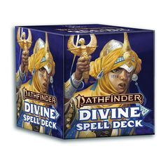 Pathfinder Second Edition Spell Cards: Divine