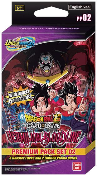 Dragon Ball Super - Premium Pack Set 02 - Vermilion Bloodline